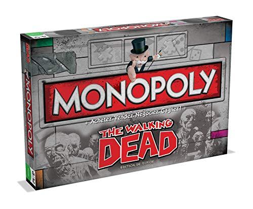 Monopoly THE WALKING DEAD-Version Française, 0952, aucune
