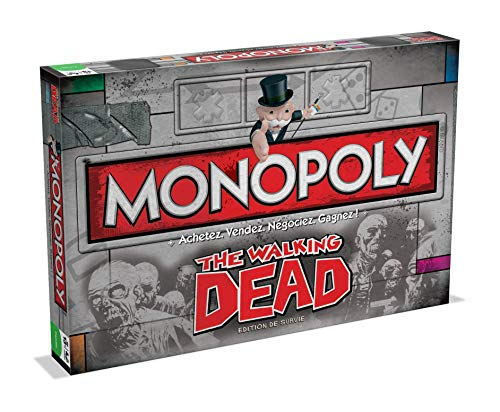 Monopoly THE WALKING DEAD-Version Française, 0952, aucune