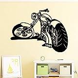 WERWN Fotomural Creativo desafío Extremo Motocicleta Pared niño habitación decoración
