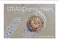 Strandansichten (Wandkalender 2022 DIN A2 quer): Im Juistrausch - ganz nah dran am Juister Strand. (Monatskalender, 14 Seiten )
