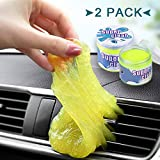 Auto Car Detailing Cleaning Gel - Car Cleaning Gel Putty Automotive Dust Vent Crevice Interior Detail Removal Detailing Putty Magic Gel Compound Dust Wiper Cleaner for Car Vent Key board Home Use.