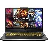 ASUS TUF A17-TUF766II-H7014T PC Portable Gaming 17.3'' (AMD R7-4800H, RAM 8Go, 512Go SSD, NVIDIA GeForce GTX 1650 Ti - 4GB GDDR6 , Windows 10) Clavier AZERTY Français
