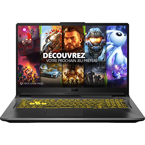 ASUS TUF A17-TUF766II-H7014T PC Portable Gaming 17.3'' (AMD R7-4800H, RAM 8Go, 512Go SSD, NVIDIA GeForce GTX 1650...