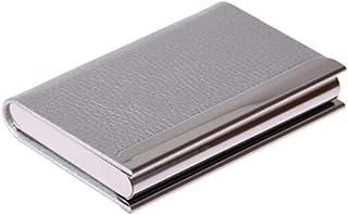 Porte-cartes de visite haut de gamme Carte de grande capacité Case-Silver