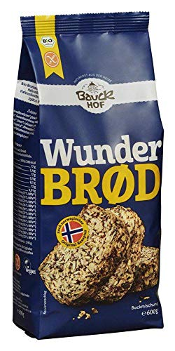 Bauck Wunderbrød glutenfrei Bio, 6er Pack (6 x 600 g)