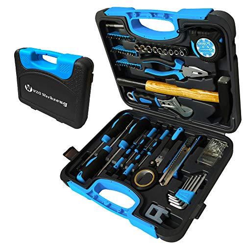 Multifunktion-Werkzeugkoffer, 60-teilig Haushaltskoffer, Werkzeugkasten für den Heimgebrauch