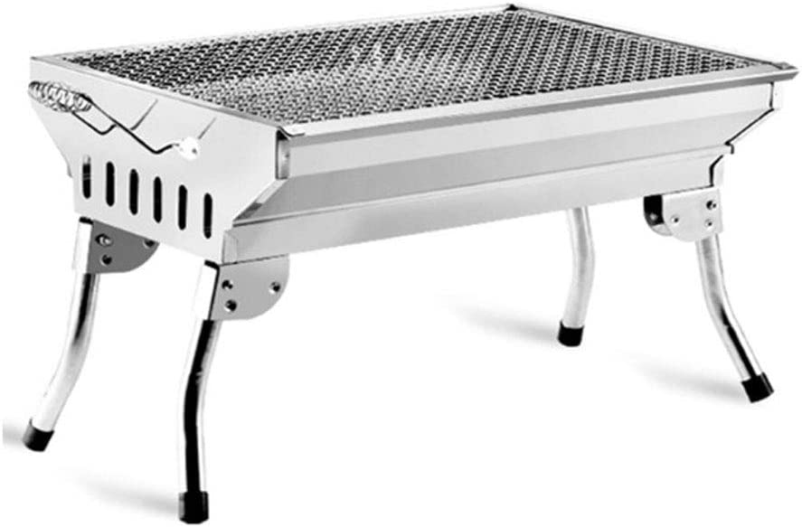 ZJJ Barbecue Max 70% OFF Grill Charcoal Outdoor specialty shop Portable St Stainless