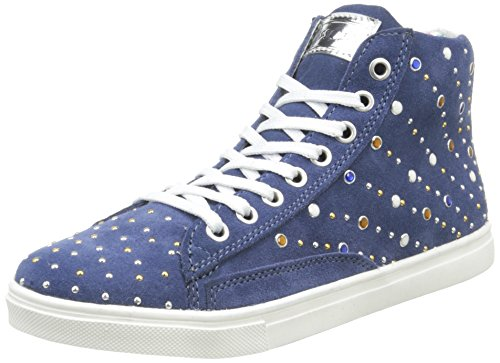 Asso 39203, Sneakers Hautes Fille, Bleu (Ming), 31