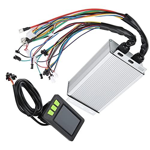 ブラシレススピードモーターコントローラー、ブラシレスモーターコントロールボックス電動自転車やスクーター用の安定した高感度Lcd急速充電