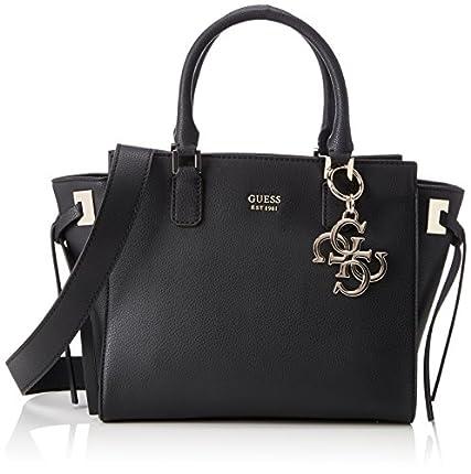 Guess - Hwvg6853060, Bolsos de mano Mujer, Negro (Nero), 15.5x23.5x36 cm (W x H L)