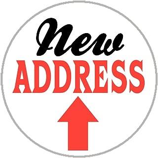 New Address Envelope Seals - 1.2