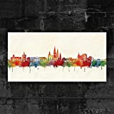 Kunstbruder Oldenburg Skyline - Farbe (div. Grössen) -