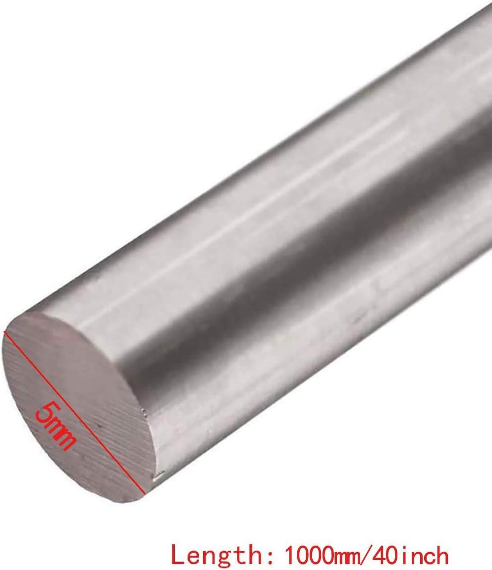 SQINAA Titanium Round Rod 3x500mm Titanium Rod Metal Shaft Rod Round Rod for Aerospace Chemical Shipbuilding Industries,3x500mm