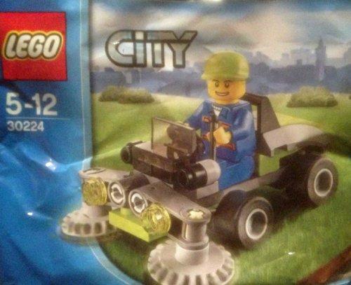 Lego City 30224 Mähfahrzeug mit Figur 42teiliges Bau- und Spielset