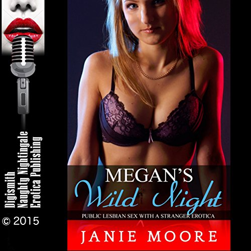 Megan's Wild Night audiobook cover art
