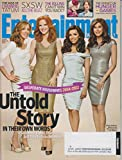 Entertainment Weekly March 30 2012 Felicity Huffman, Maria Cross, Eva Longoria & Teri Hatcher (Desperate Housewives The Untold Story)
