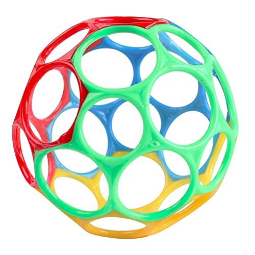 PUCHA Balles sensorielles pour bébé, Balle à Main Tactile pour bébé, Balle à saisir pour Enfants, Jouet sensoriel pour bébé, Dentition et Balle de Jeu à saisir pour améliorer l'expérience visuelle
