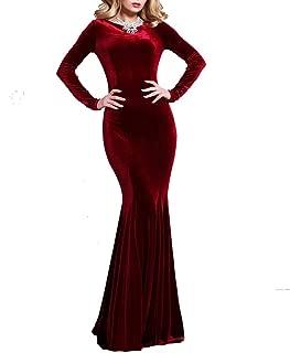 Best burgundy velvet mermaid dress Reviews
