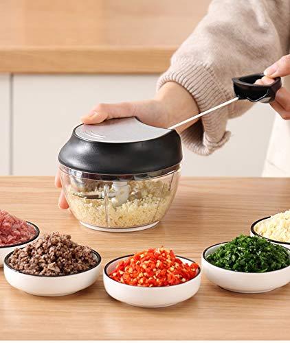 SISHUINIANHUA Kreative Küche Geräte-Handbuch Kochmaschinen Multi-Funktions-Haushalt Kleines Rühren Rührwerke Fleisch Gemüsemühlen Stir