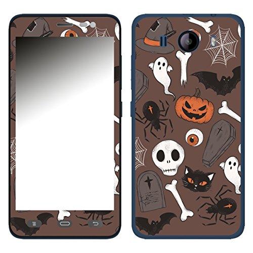 Disagu SF-106606_1210 Design Folie für Phicomm Clue L - Motiv Halloweenmuster 02