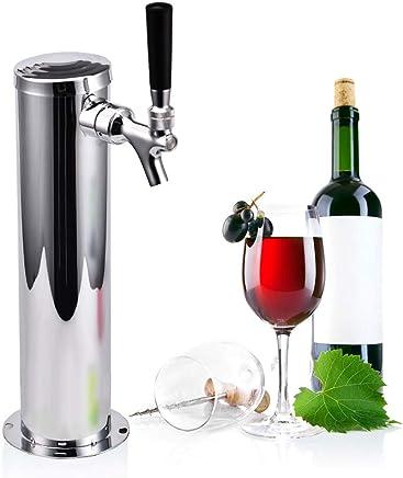 Zerodis Distributeur de Soupape de S/écurit/é de Type S Coupleur de F/ûts /Équipement de Bi/ère Kits de Vinification Maison 8 /à La Sortie du Vin Filetage Ext/érieur G5