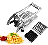French Fry Cutter ,vinmax Multipurpose Stainless Steel Potato Vegetable Slicer Cutter