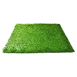 Pet Dog Pee Turf Replacement for Bathroom Relief System, Weather Proof, Synthetic Grass, Housebreaking, Portable, Easy Clean, Perfect for Indoor and Outdoor (20 x 25 Inch)