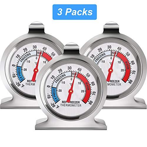 Kühlschrank Gefrierschrank Dial Thermometer Temperaturanzeige steht Küche