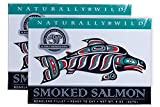 Alaska Smokehouse Smoked Salmon, 8oz, 2 Pack