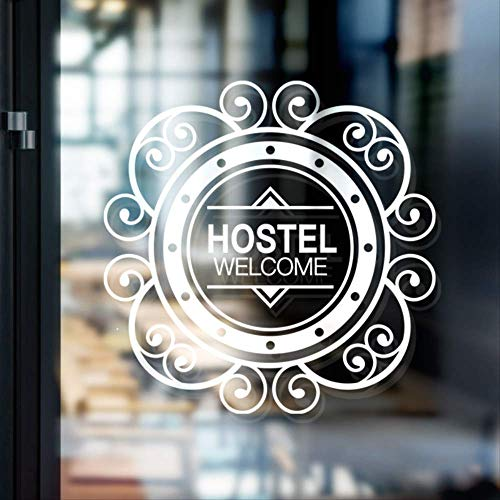 Creatieve raamdecoratie voor schuifdeuren, van glas, voor hotel, decoratie voor ramen, hotel, staaf, zelfklevend, zonwering, waterdicht