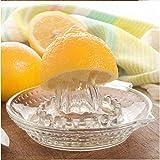 NAWXC Glas-Zitronen-entsafter, Manuelle Entsafter, Zitronenpresse, Handfrucht-saftpresse Aus Edelstahl, Zitronen-limetten-quetscher Für Zitronen Und Limetten