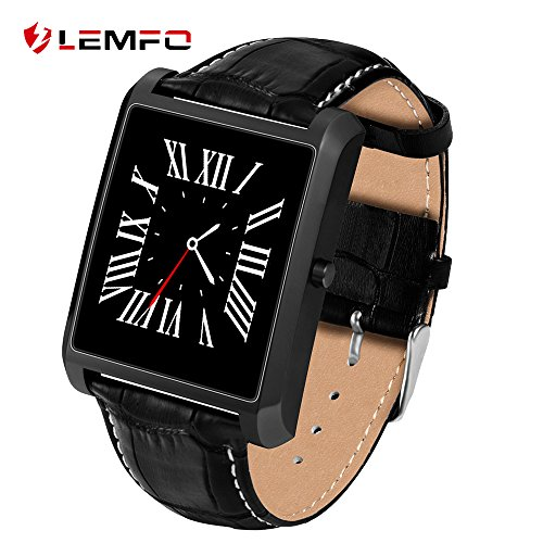 Lemfo LF20 Bluetooth reloj inteligente 1.54 IPS Pantalla MTK2502 Heart Rate Monitor reloj inteligente para iPhone Android teléfono