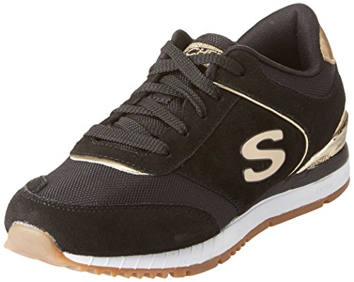 Skechers Damen Sunlite Vega Slip On Sneaker, Schwarz (Black), 41 EU