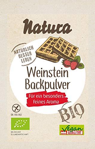Natura Bio Weinstein-Backpulver 3er-Pack, 54 g