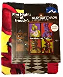 Five Nights at Freddy's Silky Soft Throw Blanket