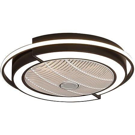 Berkalash Ventilatore da soffitto con illuminazione soggiorno sala da pranzo velocit/à del vento regolabile dimmerabile per camera da letto lampada da soffitto