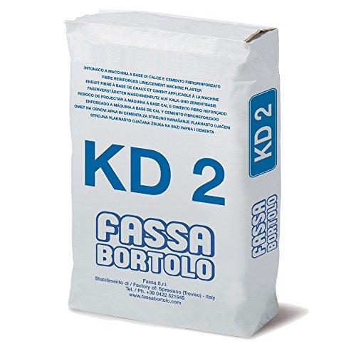 Faserverstärkter Bodenbelag für Innen- und Außenbereich, 25 kg, KD2