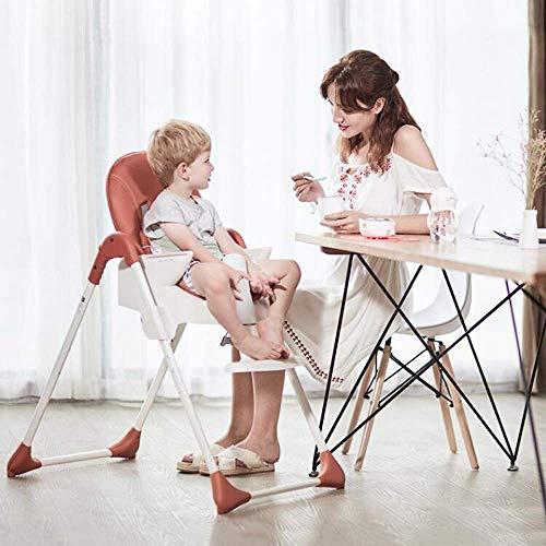 WYJW Kids Multifunctionele Feeding Chair Kinderstoel Baby's Kinderstoel Baby's Peuters Eten Tafel Draagbare Baby Eettafel Booster Stoel Eetstoel Babies Leren Stoel Kinderstoel Diner Tafel
