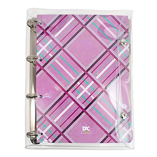 Caderno Argolado Universitário, DAC, 2395, Rosa