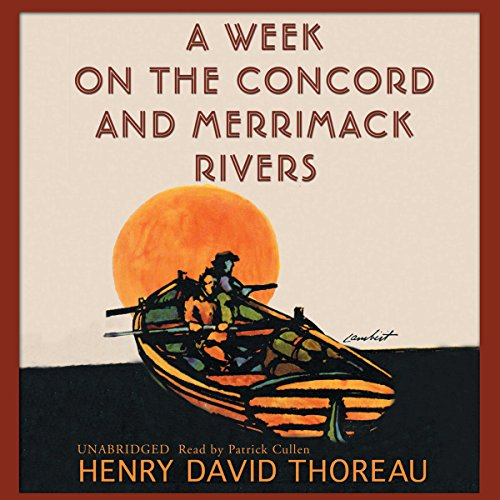 A Week on the Concord and Merrimack Rivers audiobook cover art