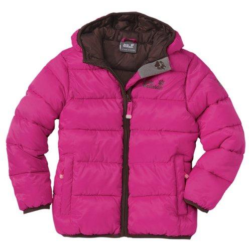 Jack Wolfskin Mädchen Wattierte Jacke Kids Hooded Icecamp , Pink Passion, 152, 1602891-2112152