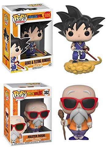 FunkoPOP!Dragon Ball: Goku y Flying Nimbus + Master Roshi
