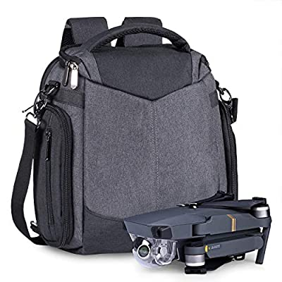 Estarer Drone Backpack Shoulder Bag for DJI Mavic 2 Pro/Zoom,Mavic Air/Mini,Small Camera Rucksack Bag for Travel
