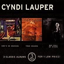 3 Pak: She's Unusual / True Colors / Hat Full Star by Cyndi Lauper