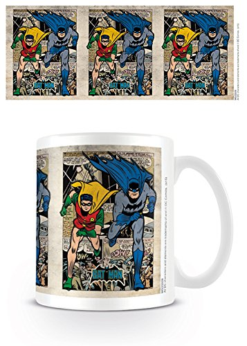DC Originals MG23329 Batman (Montage) Mug, Céramique, Multicolore, 11oz/315ml