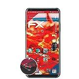 atFolix Schutzfolie kompatibel mit LG V35 ThinQ V350AWM Folie, entspiegelnde & Flexible FX Bildschirmschutzfolie (3X)