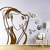 Zaosan Vinyl Applique Wand Aufkleber Leben Kinderzimmer