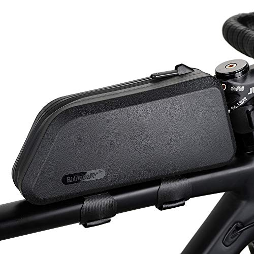 Grefay Fahrrad Rahmentaschen 1.5L Wasserdicht Farhrradlenkertasche Oberrohrtasche Handytasche Geeignet für Smartphones unter 7,5 Zoll