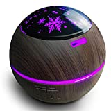Diffusore di aromi, 150ml, ultra silenzioso, umidificatore per oli Star Projector luce notturna, purificatore d'aria modalità nebbia regolabile