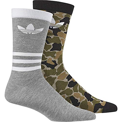 adidas CE5732 Chaussettes Homme, Multicolore/Noir/Medium Grey Heather, FR : S (Taille Fabricant : 31-34)